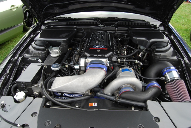 Black Vortech V-3 Supercharged S197 GT