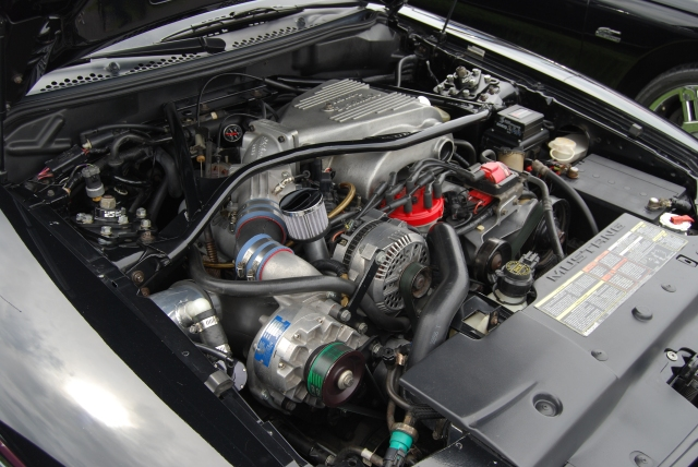 Black Vortech V-2 Supercharged SN95 GT