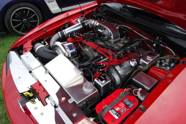Red Vortech V-7 JT Supercharged SN95 GT
