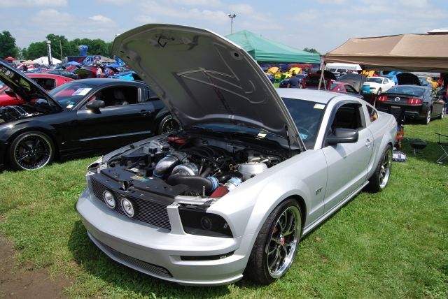 Silver Paxton NOVI 2200 Supercharged S197 GT