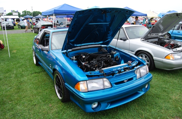 Vortech Supercharged Teal '93 Cobra