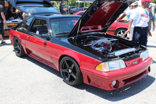 Vortech V-1 Supercharged 2 Tone Fox Body Mustang