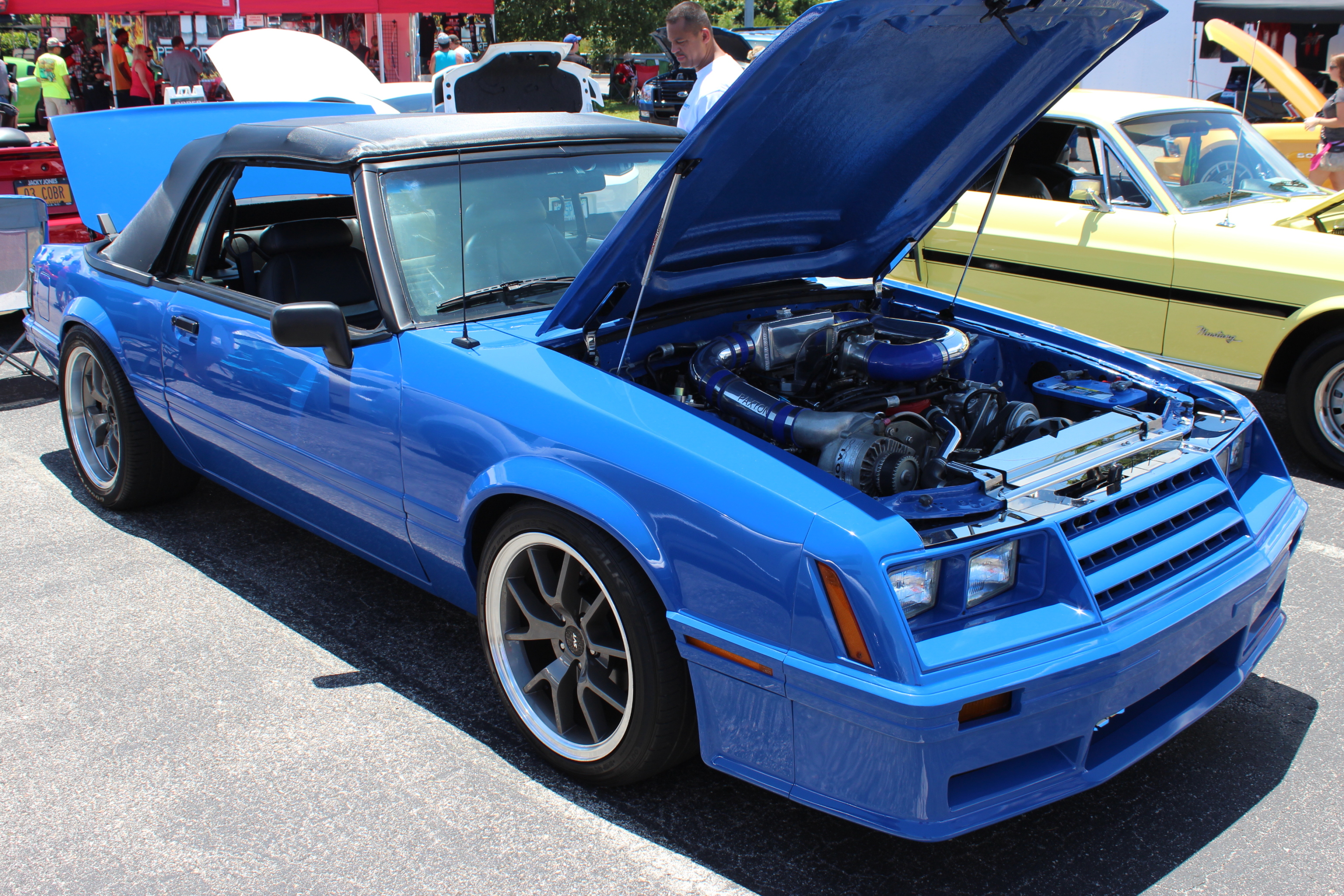 Mustang week part three car shows and mustangs everywhere vortech superchargers 39 blog - Hood novi ...