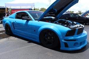 Blue Slammed Vortech V-2 Supercharged S197 Roush