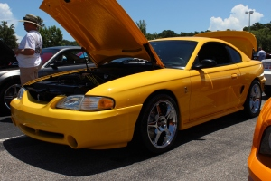Vortech V-3 Si Supercharged Canary Yellow 5.0 Cobra02