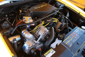 Vortech V-3 Si Supercharged Canary Yellow 5.0 Cobra