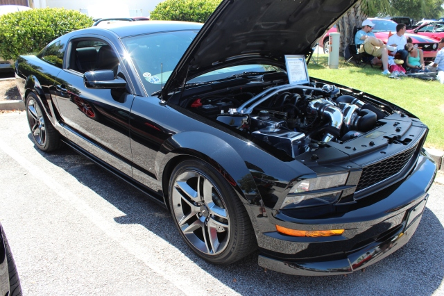 Paxton NOVI 2200 Supercharged DaSilva Racing Bullitt Mustang