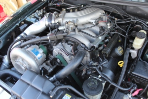 Hollow Point Racing's Vortech V-7 JT Supercharged '01 Bullitt