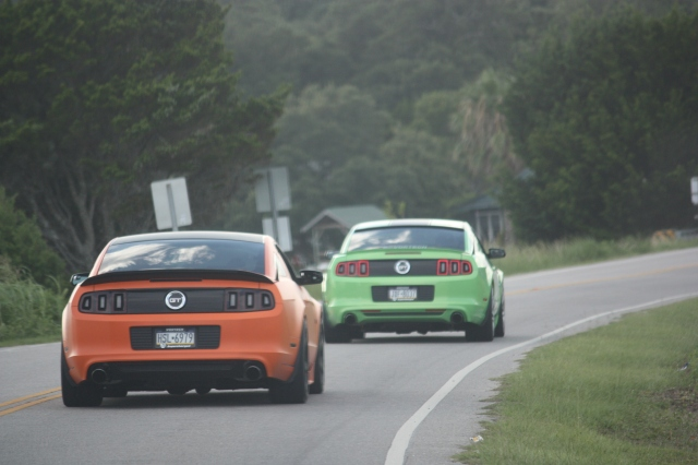Keith & Nikki's Vortech Supercharged Mustangs