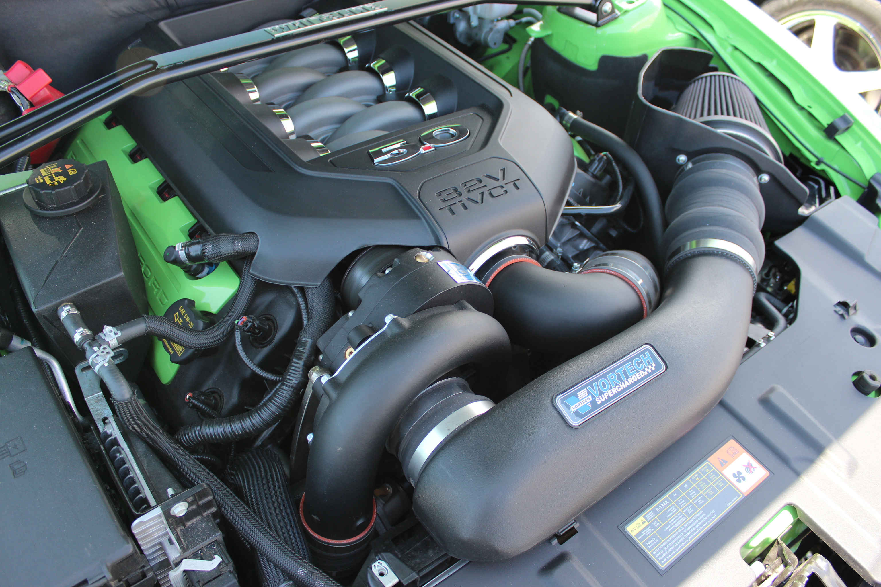 nikki s vortech v 3 si supercharged 2013 5 0l mustang