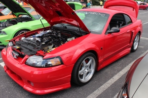 Paxton NOVI 2000 Supercharged New Edge Roush Mustang