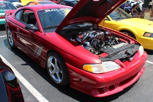 Factory Vortech Supercharged Saleen S351 Mustang