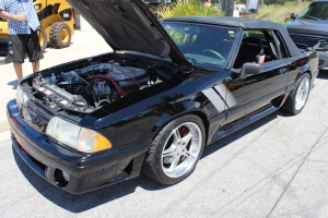 Rick's Vortech V-1 S Supercharged Convertible Fox Body Mustang