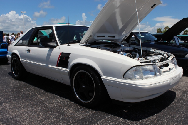 Vortech V-2 Supercharged Roush Fox Body Mustang