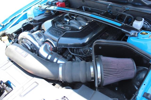 Paxton NOVI 2200 Supercharged Webasto 5.0L Mustang GT