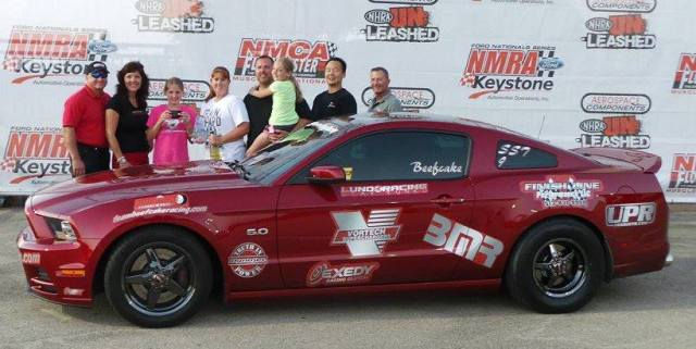 "Terry ""Beefcake"" Reeves' Ruby Red Vortech V-7 JT Supercharged 2014 Mustang GT"