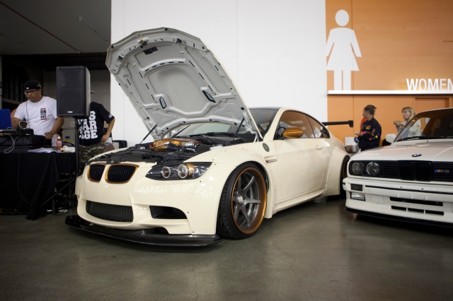 Beige VF-Engineering Supercharged Liberty Walk BMW M3