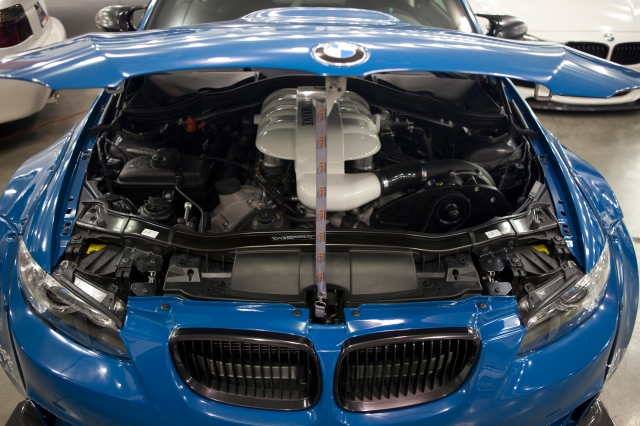 Blue ESS  Supercharged Liberty Walk BMW M3