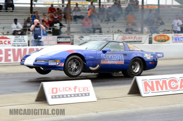 Bob Curran's Vortech V-24 Xi Supercharged Strange Engineering Corvette