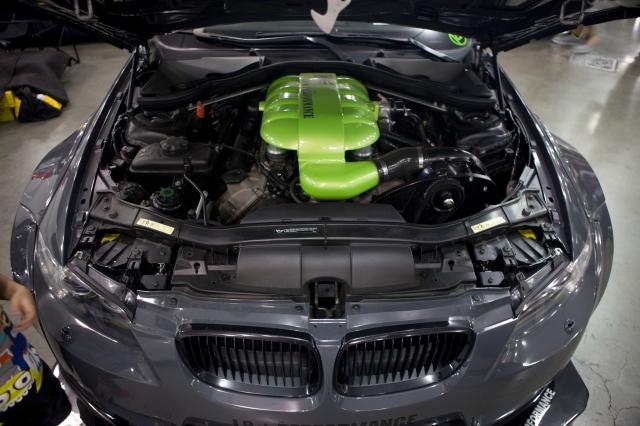 Grey ESS  Supercharged Liberty Walk BMW M3