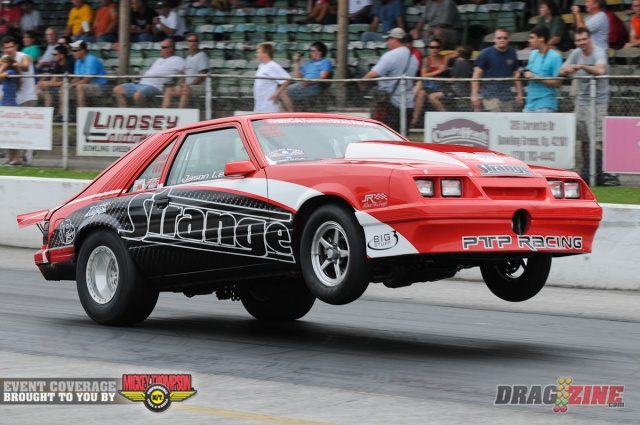 Jason Lee's V-24 XB105 Supercharged Street Outlaw Mustang