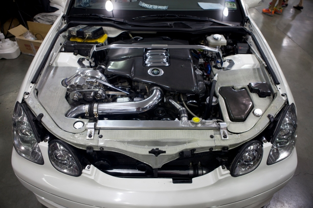 Thomas Pinai's Custom Vortech Supercharged Lexus GS