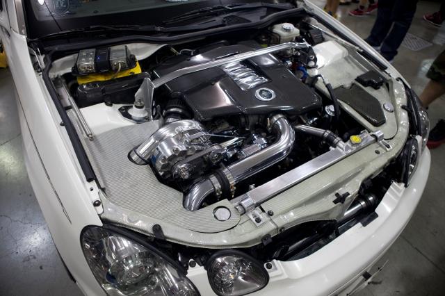Thomas Pinai's Custom Vortech Supercharged Lexus GS