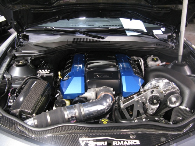 Mike Betts' Vortech V-3 Supercharged Camaro SS
