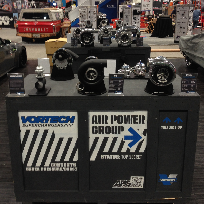 Vortech V3 Supercharger Foxbody: Vortech Superchargers Lights Up Vegas At SEMA 2013…Part 1