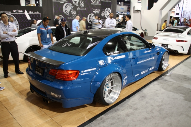 Blue ESS Tuning/Vortech Supercharged Liberty Walk E92 M3