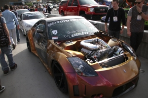 Muzzy Yousefi's Vortech Supercharged widebody 350Z