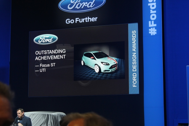 Vortech Intercooled UTI Ford Focus ST Wins Ford Outstanding Achievement in Design Award