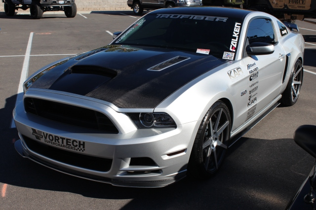 Junior Garcia & Gustavo Figueroa's Pair of Paxton & Vortech Supercharged Mustangs