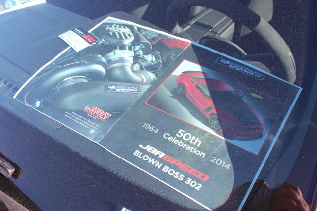 JBA Speed Shops Vortech V-3 Supercharged BOSS 302 Mustang