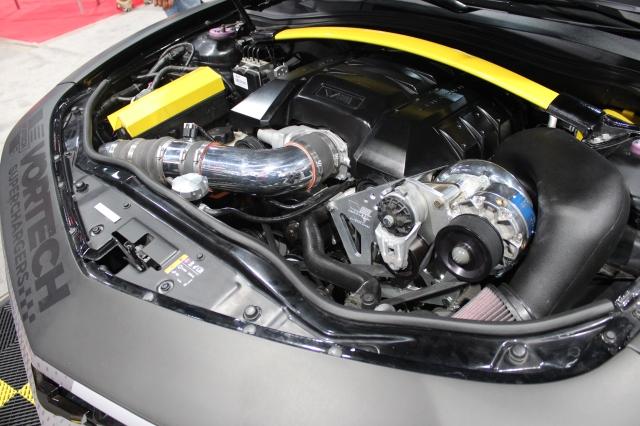 Vortech Supercharged Rockstar Garage Camaro SS Convertible