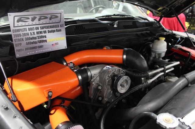 RIPP Superchargers/Vortech Supercharged 5.7L HEMI Ram Truck