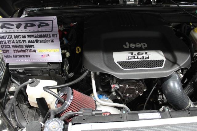 RIPP Superchargers/Vortech Supercharged 3.6L Pentastar V6 Jeep JK