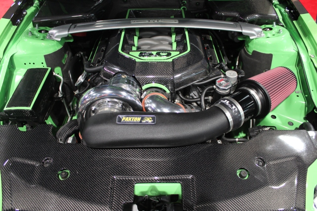TruFiber's Paxton NOVI 2200 Supercharged 2013 5.0L Mustang GT Convertible