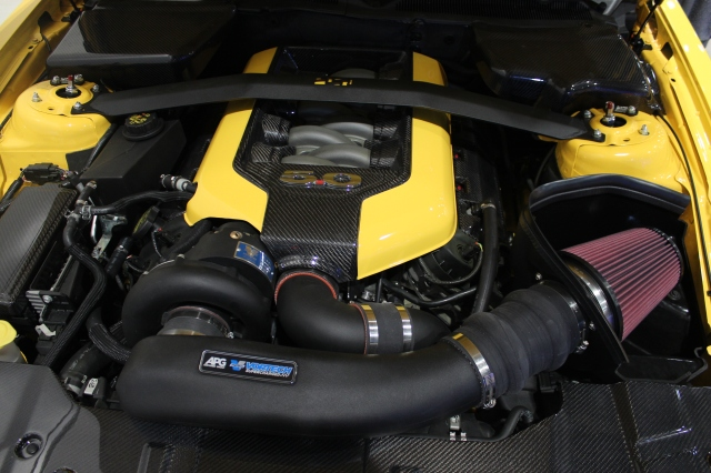 "Vortech V-3 Si Supercharged ""Yellow Jacket"" 2014 Mustang GT"