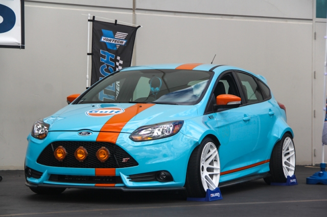 The UTI/Tjin Edition Vortech Intercooled Ford Focus ST