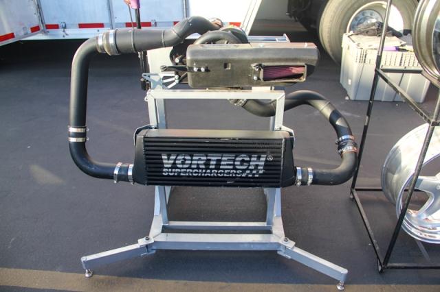 Vortech Supercharging System Display for the Scion FR-S & Subaru BRZ