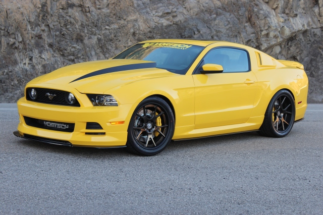 Vortech Supercharged Yellow Jacket 2014 Mustang GT