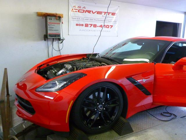 A&A Corvette C7 Stingray Supercharging System R&D and Testing