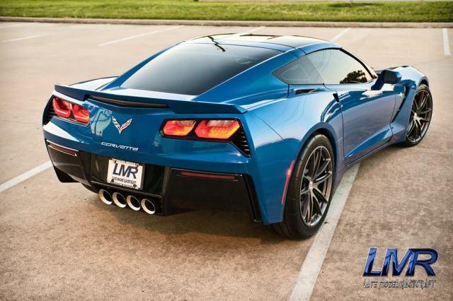 LMR's A&A/Vortech V-7 YSi Supercharged Laguna Blue C7 Corvette
