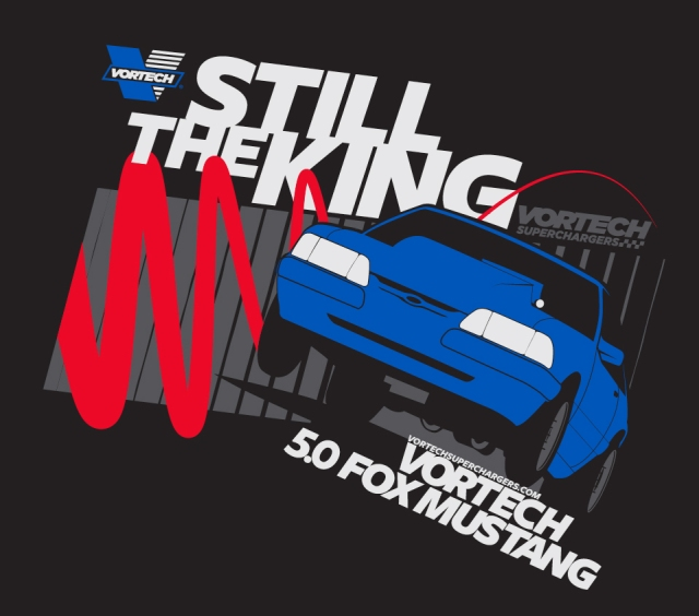 Still The King - Fox Body Vortech T-Shirt (Black)