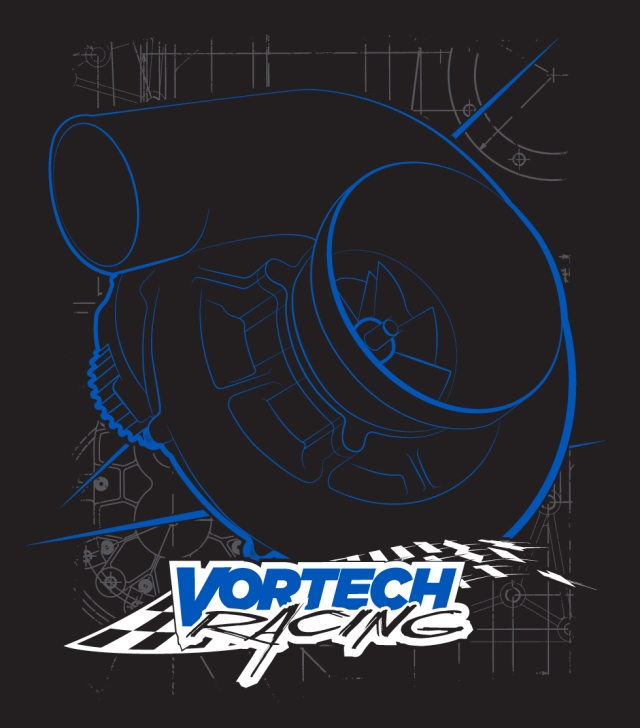 Vortech Racing T-Shirt (Black)