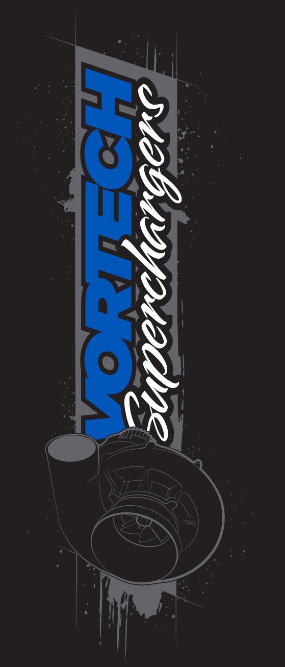 """""""Vortech Superchargers"""" (Vertical) T-Shirt"""