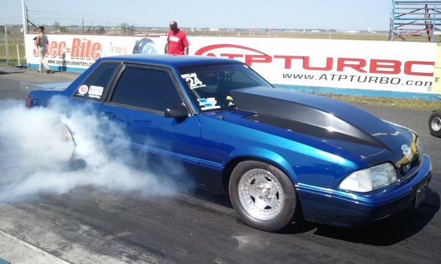 Richard Hatch's Vortech V-7 YSi Supercharged Outlaw 8.5 Mustang