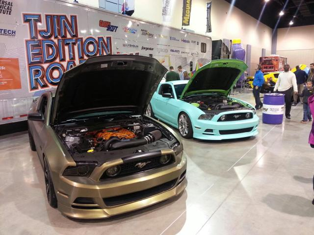 Tjin Edition Roadshow Booth from VA Auto Show