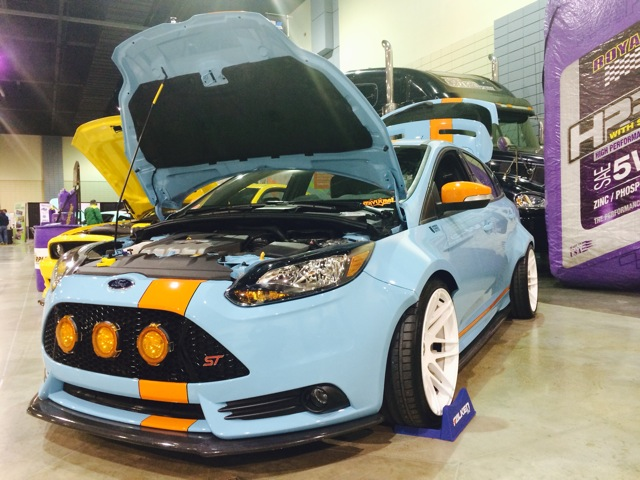 Vortech Intercooled UTI Focus ST
